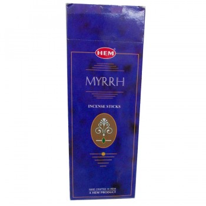 Mür Ağacı Sakızı Kokulu 20 Çubuk Tütsü - Myrrh