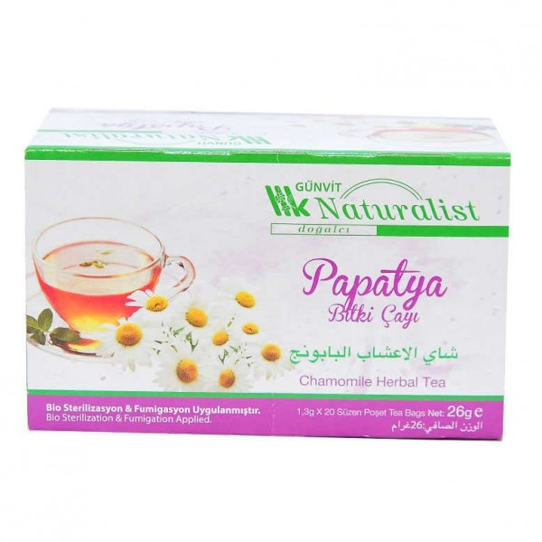 Papatya Bitki Çayı 20 Süzen Pşt